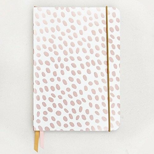 Rose tint A5 notebook