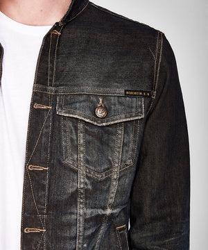 DUSTY DARK WASH JACKET