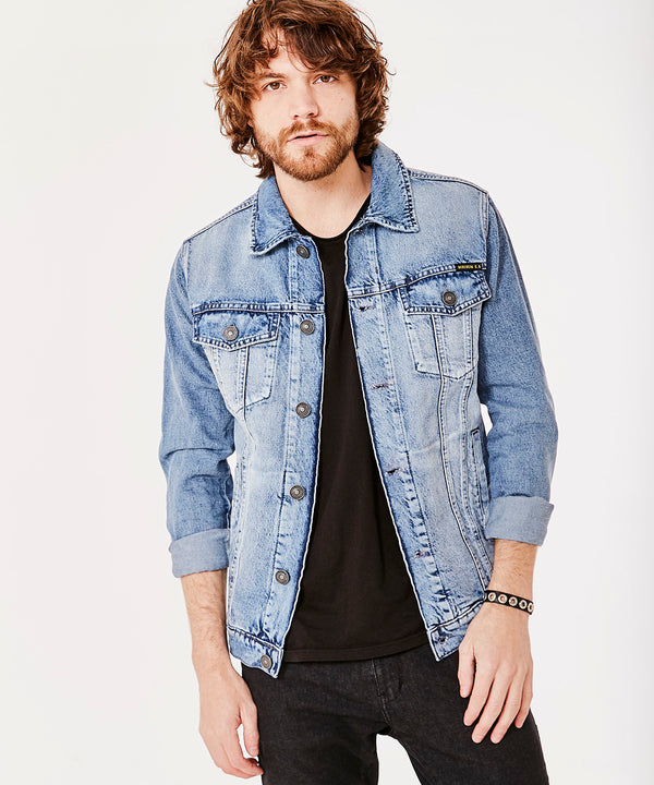 STONE BLUE WIND JACKET