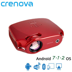 CRENOVA 2019 Newest Android 7 1 OS Video Projector For Full HD 4K