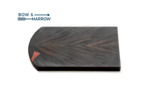 Rosewood Serving Tray with Padauk Bowties