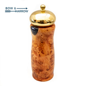 Juniper Burl Pepper Mill