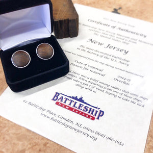 Cuff Links with a Story