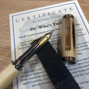 1965 Tardis Prop - Marlowe Fountain Pen or Rollerball