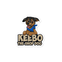 Load image into Gallery viewer, Keebo The Shop Dog Stickers