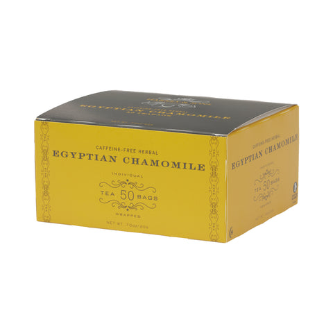 Egyptian Chamomile, Box of 50 Foil Wrapped Tea Bags