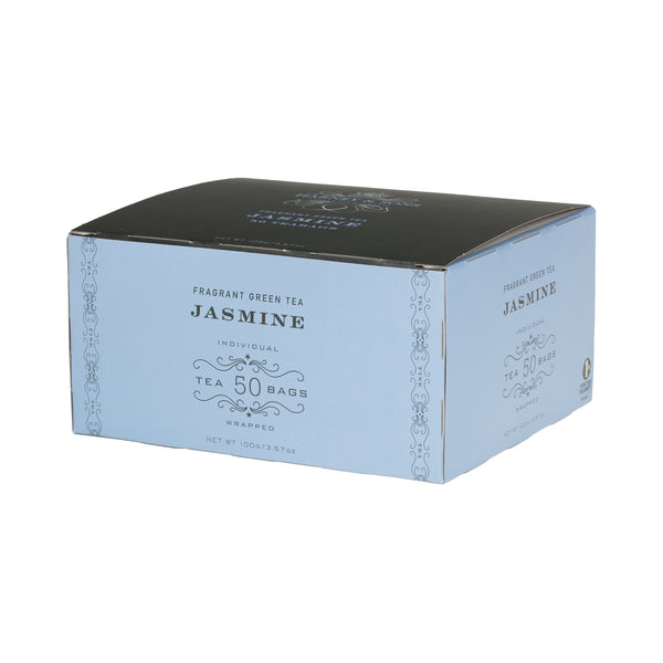 Jasmine, Box of 50 Foil Wrapped Tea Bags