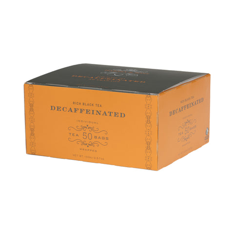 Decaf Ceylon, Box of 50 Foil Wrapped Tea Bags