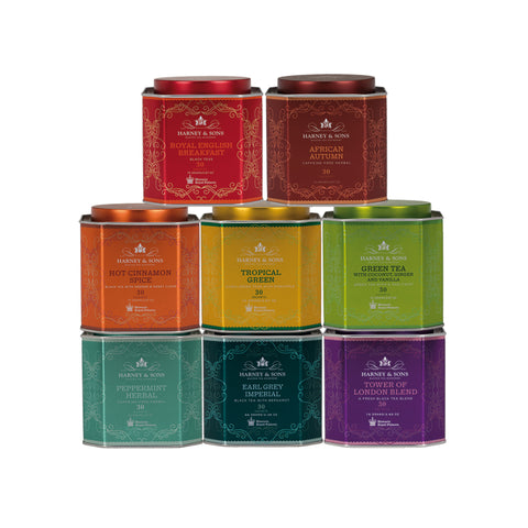 Royal Palace Collection, Tin of 30 Sachets