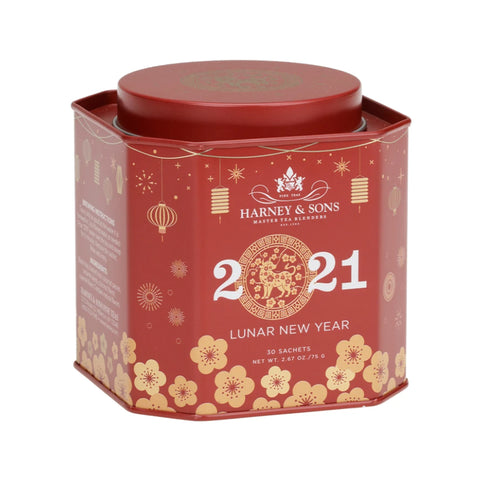 Lunar New Year Tea - Year of Ox, Special Tin of 30 Sachets