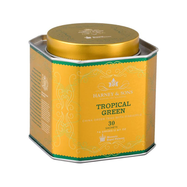 Tropical Green, HRP Tin of 30 Sachets