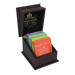 Harney & Sons Sampler - Wooden Tea Chest with Teabags