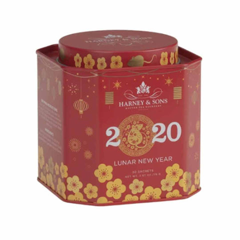 Lunar New Year Tea - Year of Rat, Special Tin of 30 Sachets