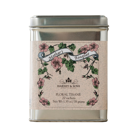 Mother's Bouquet, Special Tin of 20 Sachets
