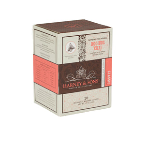 Rooibos Chai, Box of 20 Individually Wrapped Sachets