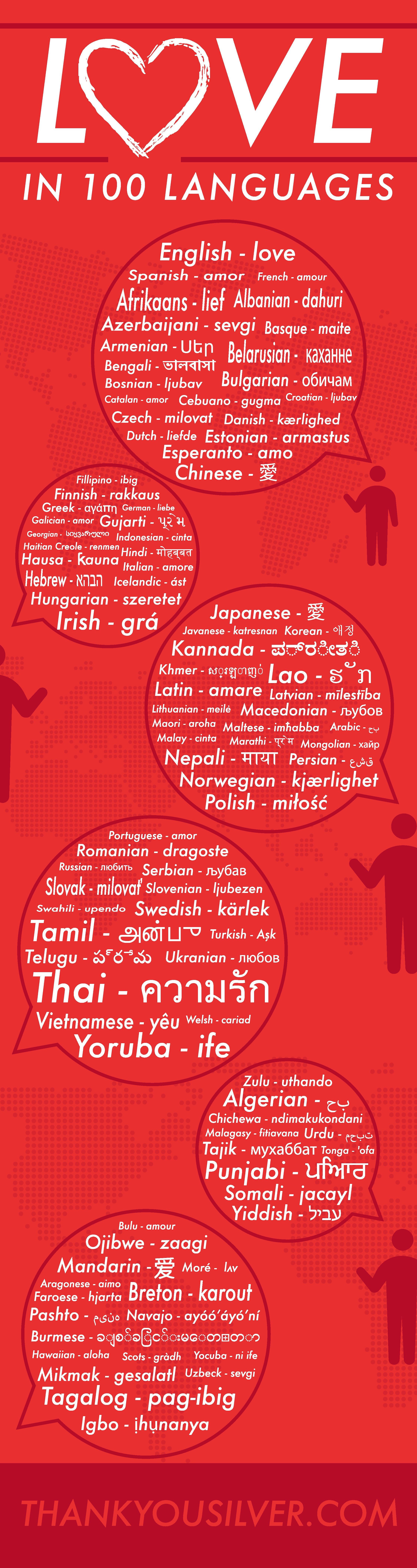 Love in 100 Languages