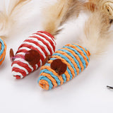 The Natural Pet Cat Feather Toys Excellent Selection of Cat Toys in Beautiful Gift Box
