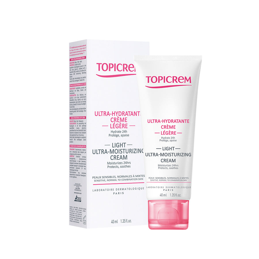 Topicrem Light Ultra-Moisturizing Face Cream