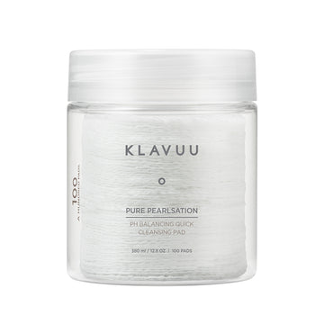Klavuu Pure Pearlsation Ph Balancing Quick Cleansing Pad 100pcs