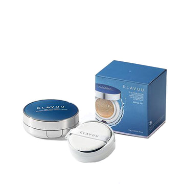 Klavuu Blue Pearlsation High Coverage Marine Collagen Aqua Cushion (Refill Set) 12g*2
