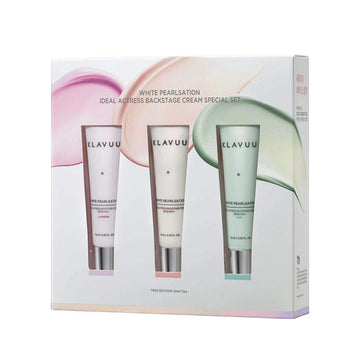 Klavuu White Pearlsation Ideal Actress Backstage Cream SPF30 PA++Special Set (10ml x 3pcs)
