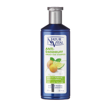 NaturVital Anti-Dandruff Shampoo - Greasy Hair