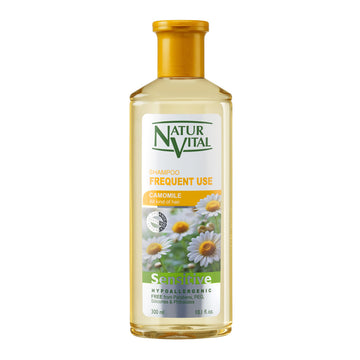 NaturVital Sensitive Frequent Use Shampoo (Camomile)