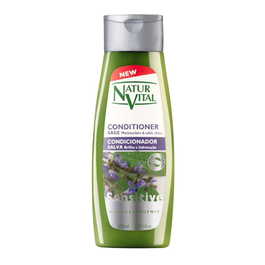 NaturVital Sensitive Hair Conditioner (Sage)