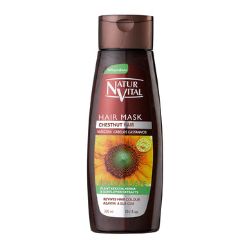 NaturVital Colour Henna Mask - Chestnut