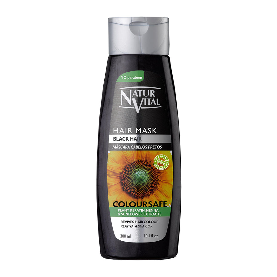 NaturVital Colour Henna Mask - Black