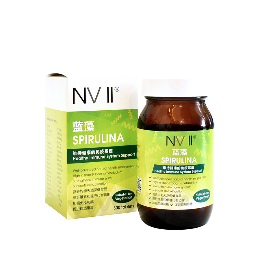 NV II Spirulina Tablets