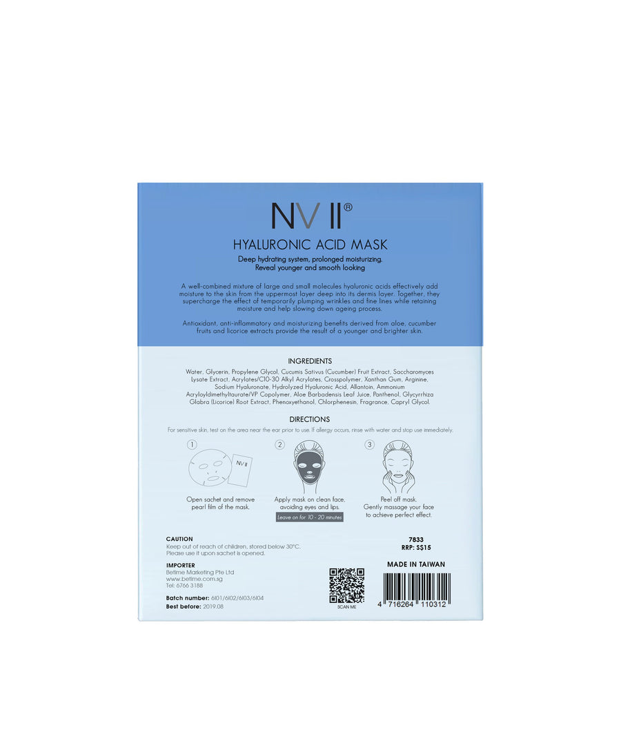 NV II Hyaluronic Acid Mask