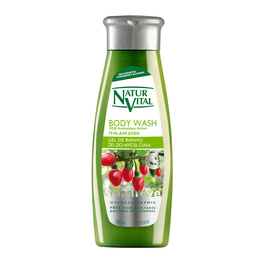 NaturVital Sensitive Shower Gel (Goji)