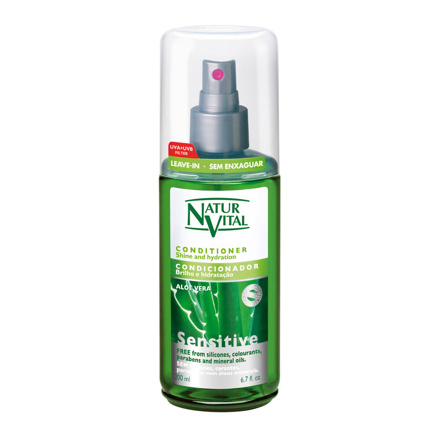 NaturVital Sensitive Leave-in Conditioner (Aloe Vera)