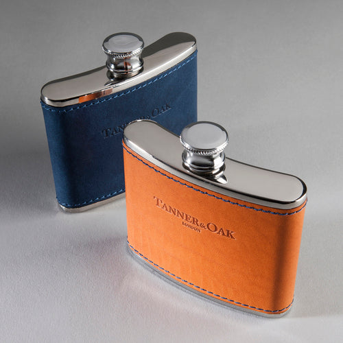 Genuine leather cover Flask