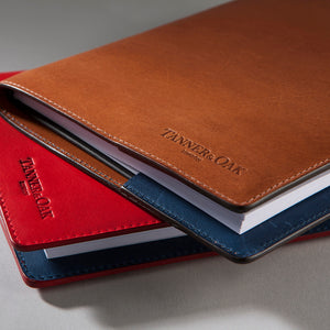 Genuine leather note book cover (Notebook included)
