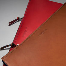 Load image into Gallery viewer, Genuine Leather document folio
