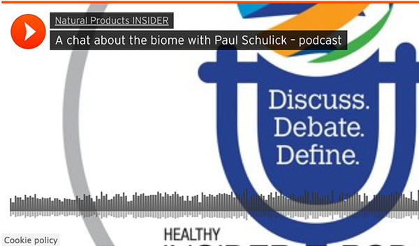 A chat about the biome with paul schulick