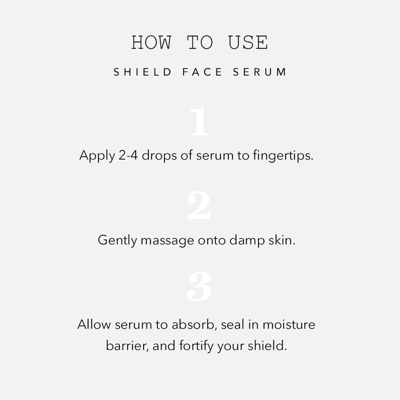 Shield Face Serum