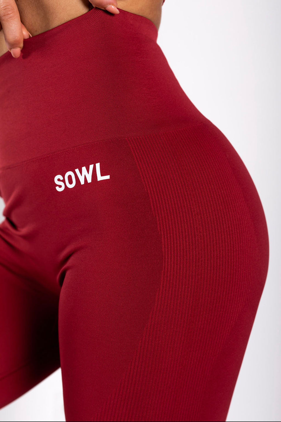 SEAMLESS LEGGING BORDEAUX