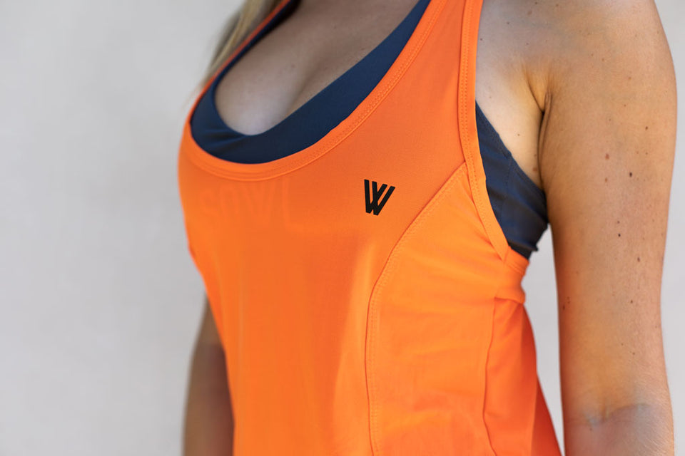SUNSET VEST Orange