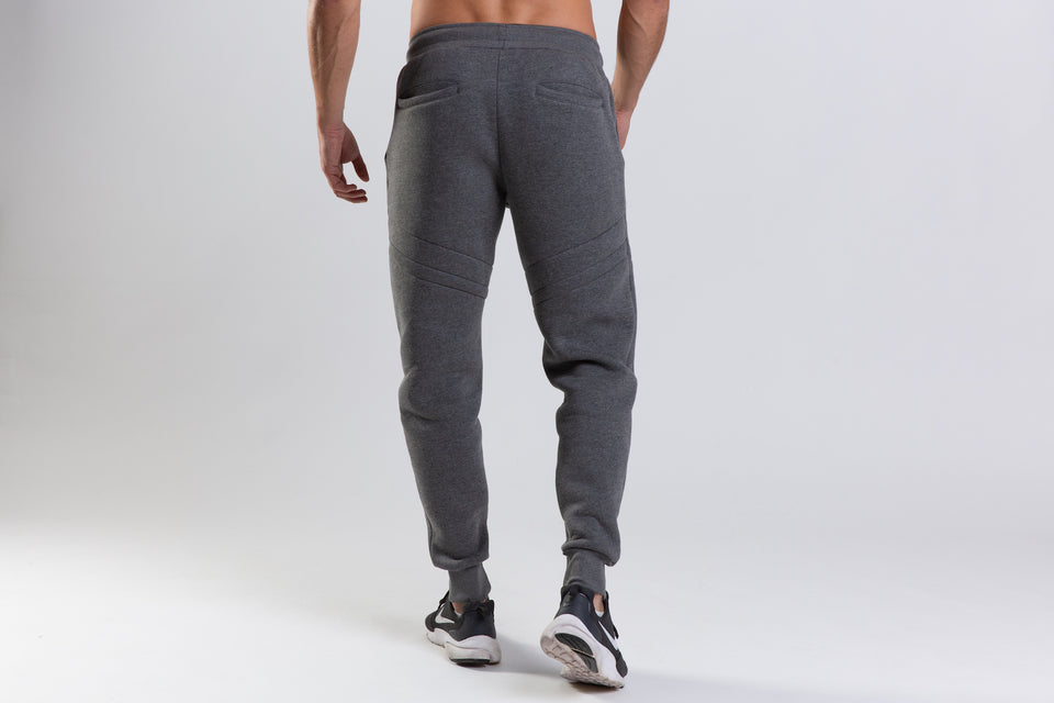 GREY JOGGERS FITTED PERFORMANCE SOWL Training