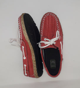 Ladies Topsider Red