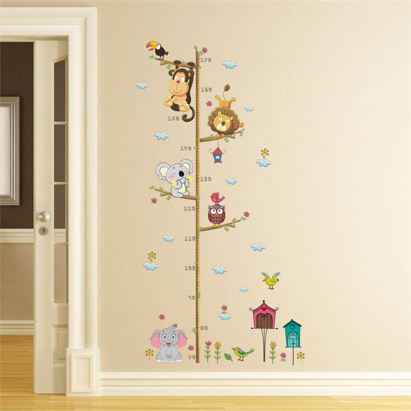 Playful height measure Wall Sticker For Kids Rooms-Shop On Couch