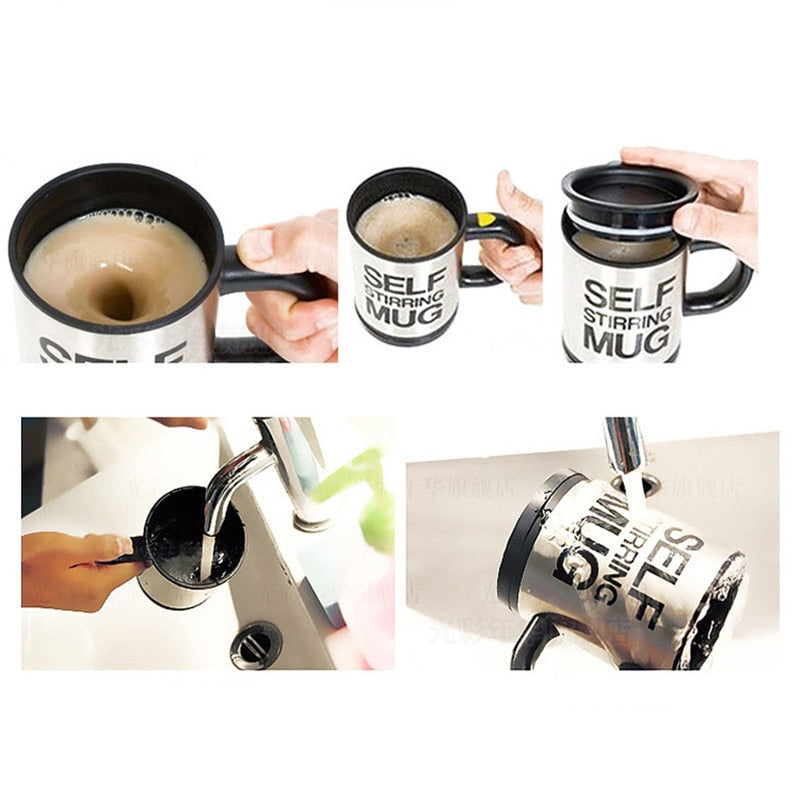 Automatic Self Stirring Smart Cup-Kitchen Accessory-Shop On Couch