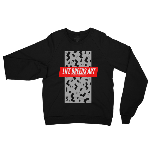 SPRAYCAN FLEECE SWEATER