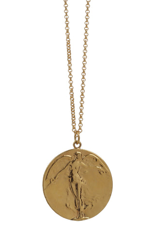 cross medallion necklace