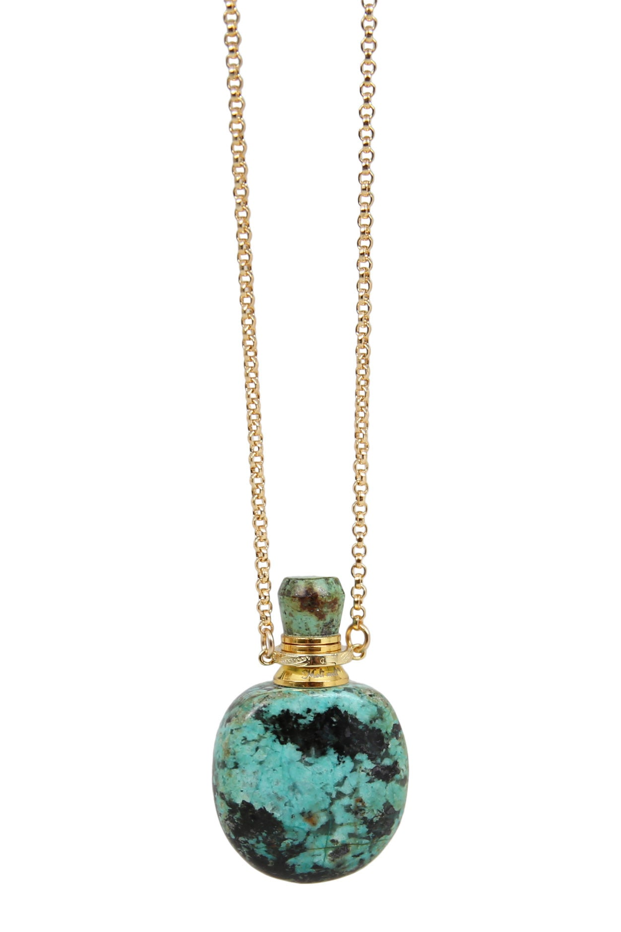potion necklace - turquoise