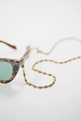 elongated sunglass chain