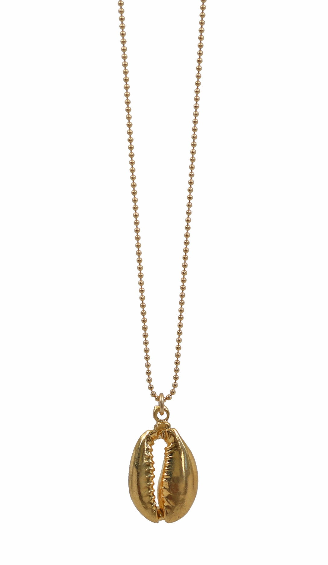 c562976f346e1 COWRIE gold shell necklace